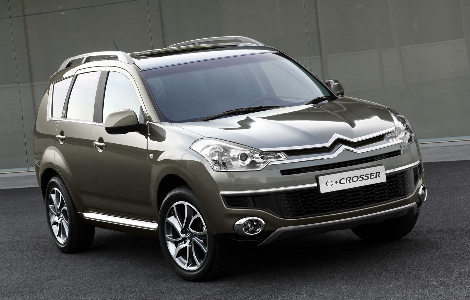 Citroën Crosser , la voiture tout terrains